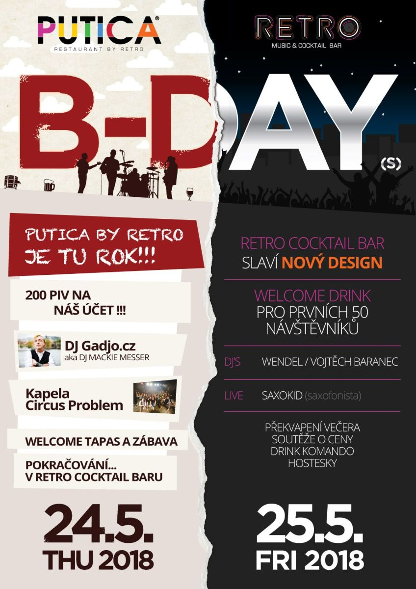 B-DAY COCKATIL BAR & PUTICA